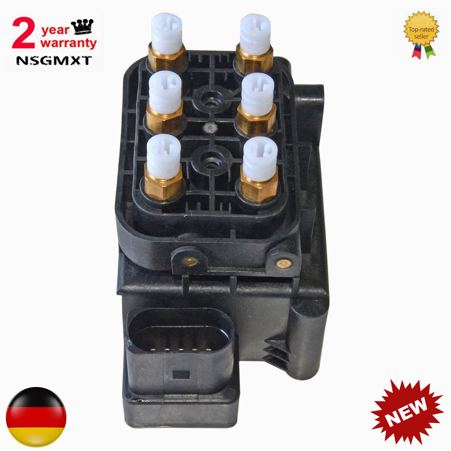 AP01 New Valve Block Air Suspension Air Supply For Audi Allroad A6 C6  Quattro A8 D3  S8 D3  4F0616013  4Z7 616 013  4Z7616013