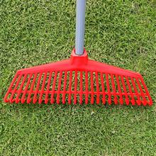 1pcs 26 Teeth Gardening Plastic Grass Rake Odorless And Non-toxic Garden Tool For Lawn Garden Cleaning Care