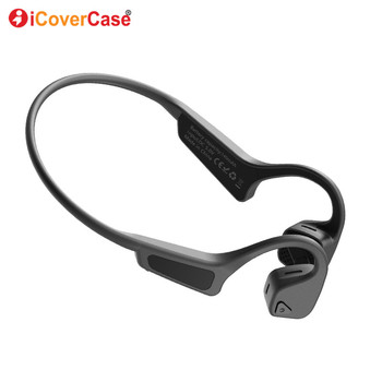 Bone Conduction Wireless Bluetooth Headphones For Samsung Galaxy A6 + Plus A7 A8 A9 A8S A5 Case Mobile Sprots Earphones Headset