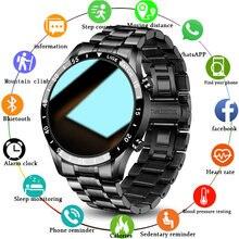LIGE 2021 yeni akıllı saat erkekler tam dokunmatik ekran izle kalp hızı izleme spor spor Bluetooth çağrı su geçirmez Smartwatch