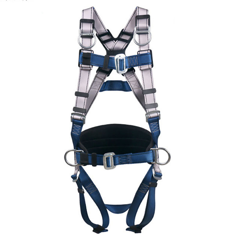 Outdoor Rock Climbing Aerial Work Safety Belt Adjustable Belt Fall Protection Camping Climbing Safety Belt Survival Equipment