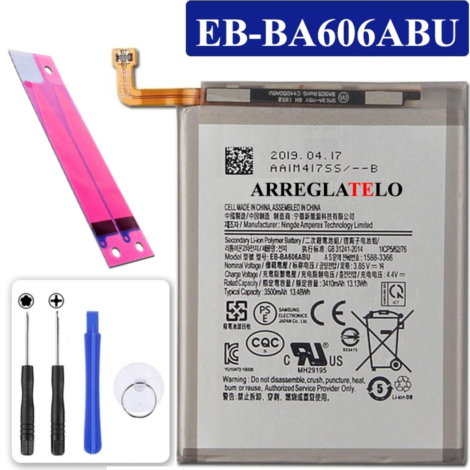 Аккумулятор для Samsung Galaxy A60 2019 A606, Mpn Original Eb-Ba606Abu