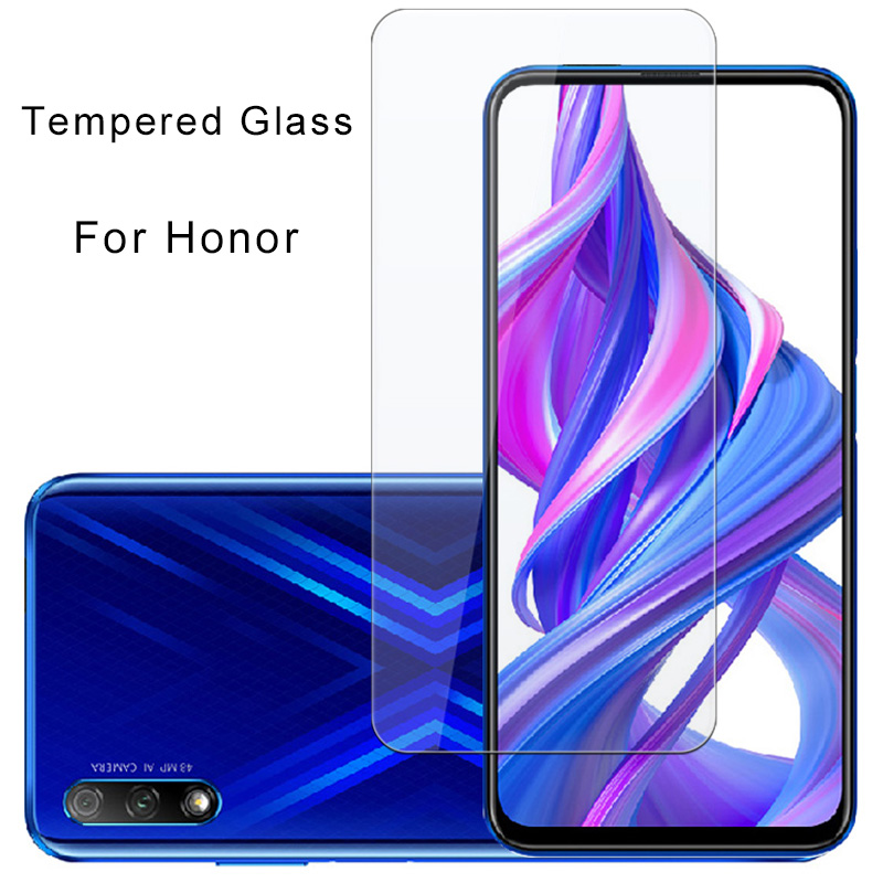 Toughed Screen Protector For Honor 3X 4X 5X 6X 7S 8S Phone Front Film For Huawei Honor 7X 8X Max 9X Pro  Protective Glass 9H HD
