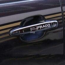 Paslanmaz çelik saplar Toyota Land Cruiser Prado 120 için 2003 2004 2005 2006 2007 2008 2009 aksesuarları