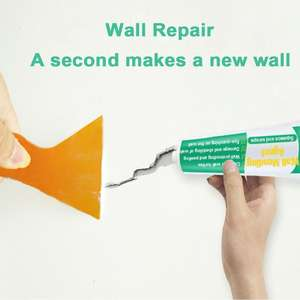 Sealant for Home-Walls Peeling Graffiti-Gap-Repair Crack Repair-Tool -2 Grout Ointment