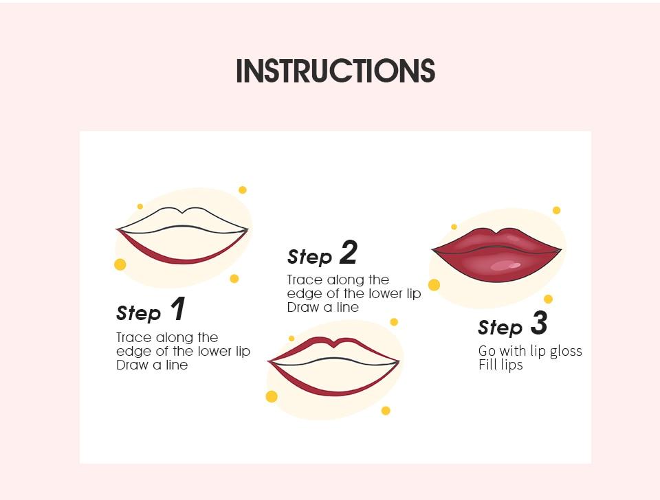 Imic lipsgloss fosco 5-color conjunto batom gloss