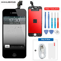 AAA++ LCD Pantalla For iPhone 5 5C 5S LCD Display Screen Replacement Digitizer Assembly No Dead Pixel For iPhone 5S SE LCD