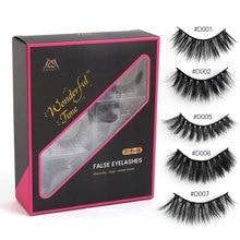 Wholesale 30 pairs/lot eyelashes natural long 3d mink lashes false eyelashes makeup mink eyelashes eyelash extensions