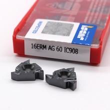 16ER AG60 11IR A60 16IR AG60 A60 G60 22IR 22ER N60 60 angle Thread turning tools Tungsten Carbide Insert Threading Lathe