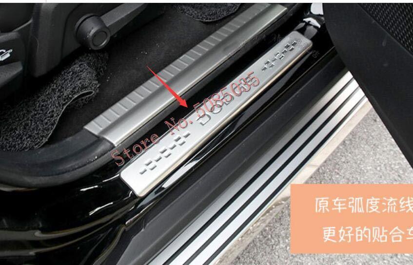 Voor Dodge Journey Jucv 2009 2010 2011 2012 2013 2014 2015 2016 Buiten Instaplijsten Scuff Gate Plaat Auto Styling accessoires 4 Pcs