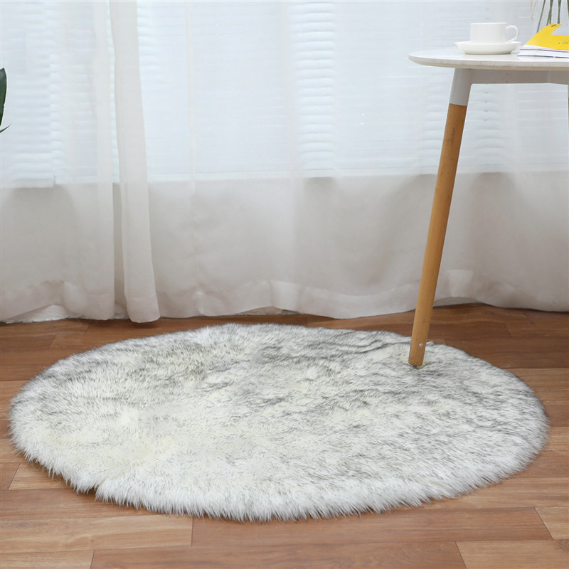 Area Rugs For Home Living Room  Fluffy Rug  Fur Rug White Round Fluffy Rug  Living Room Rugs Large  Living Room Rugs  White Rug
