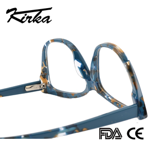Image 5 - Kirka Cat Eye Frame Eyeglass Women Frame Acetate Clear Fashion Glasses Frame Optical Women Reading Glasses Eyeglasses Myopia
