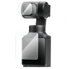 Ekran ze szkła hartowanego obudowa ochronna dla FIMI PALM kardana ręczna kieszonkowy aparat obiektyw LCD folia ochronna na ekran Case akcesoria
