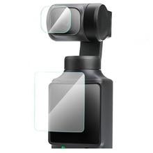 Gehard Glas Screen Protector Cover Voor Fimi Palm Handheld Gimbal Pocket Camera Lens Lcd scherm Bescherming Film Case Accessoire