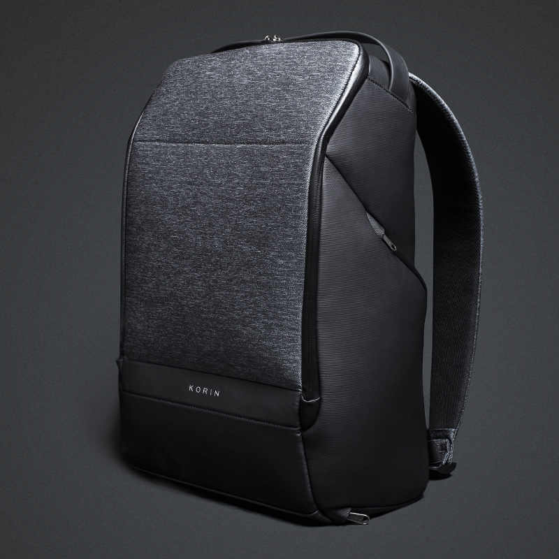 Krion FlexPack 2019 New Anti-thief Fashion Men Backpack Multifunctional Waterproof 15.6 inch Laptop Bag Man USB Charging Travel