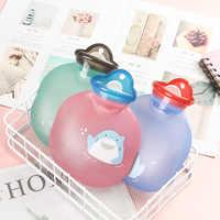 Cute Thick Hot Water Bottles Portable Rubber Winter Warm Water Bottle Hand Warmer Girls Pocket Hand Feet Hot Water Bag 2020 New