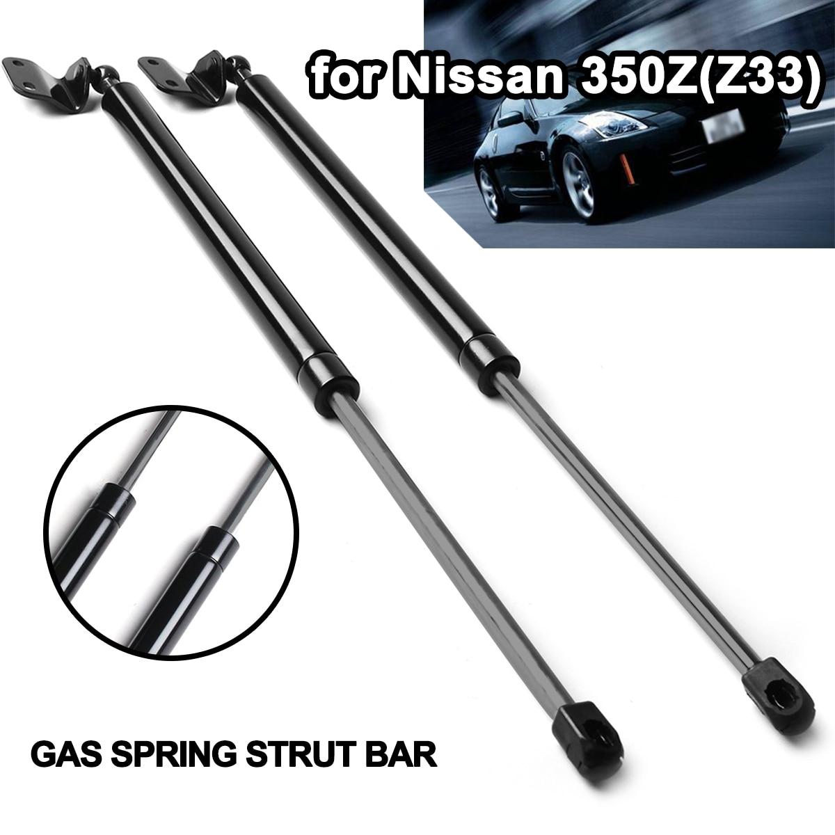 2 шт. автомобиля задний багажник Поддержка багажника, изготовлено fangyuan бар ветровик GS90453 для Nissan 350Z Z33 2003-2008 автомобильные аксессуары
