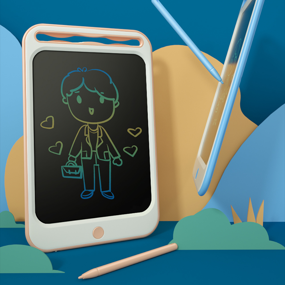 Drawing Toys Tablet For Kids LCD Drawing Board Children Drawing Tablet Scratch Painting Toy With Anti-erase Lock Birthday Gifts