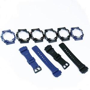 Image 2 - Uhr zubehör pin schnalle geeignet für Casio harz strap fall herren uhr mit AQ S810W AQS810WC sport wasserdichte uhr band