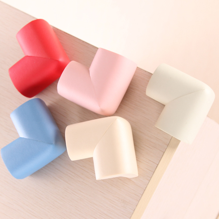 10pcs/lot Corner Pad Table Corner Protection Baby Bumper For Child Sponge Protect Safety Products Baby Strip Kids Furniture