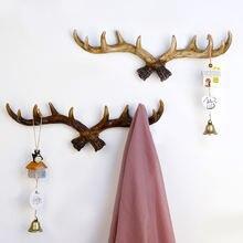 Винтажная Декоративная вешалка для хранения одежды с изображением