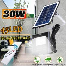 2 Stuks Led Solar Schijnwerper Spotlight Outdoor Wandlamp Verlichting Waterdichte Emergency Night Garden Pathway Afstandsbediening W Kabel(China)