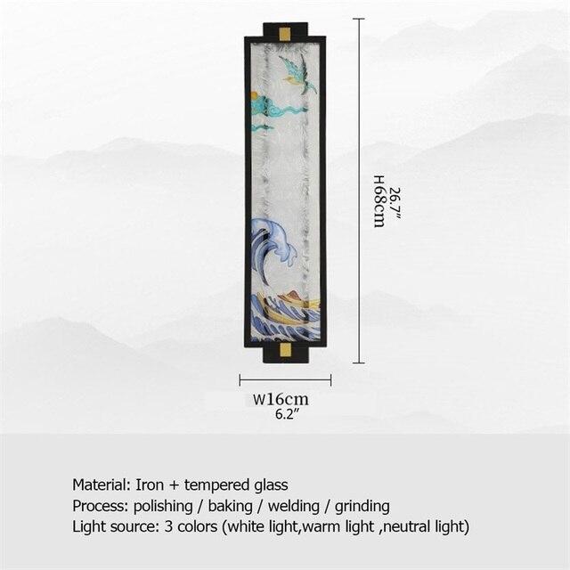 домашние настенные светильники oufula креативные декоративные фотография