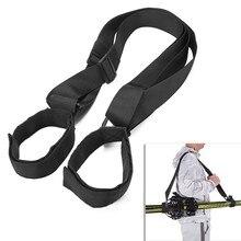 Skiing Snowboard Straps Portable Ski Backpack Shoulder Straps Carrier Adjustable Ski Tote Carry Sling For Outdoor Sports Parts