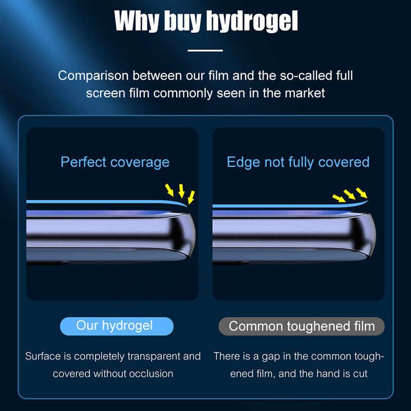 3 pçs filme de hidrogel na tela protetor para samsung galaxy s8 s9 s10 s20 plus ultra protetor de tela para samsung note 8 9 10