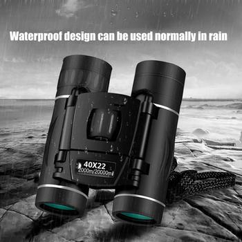Zoom Telescope 40x22 Folding Binoculars with Low Light Night Vision for outdoor bird watching travelling hunting camping 2000m A zoom telescope 40x22 folding binoculars with low light night vision for outdoor bird watching travelling hunting camping 2000m a