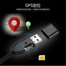 Смарт-USB-кабель позиционирование данных зарядки GPS подобрать линию трекер противоугонное оборудование локатор SIM-карты GPS трекер для автомобиля