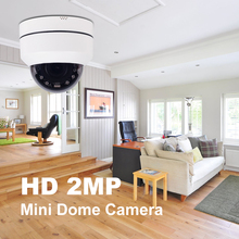 IMPORX 2MP Mini Dome WiFi PTZ IP Camera Indoor 1080P Wireless 4X Optical Zoom Home Security Cameras Two-Way Audio 128GB SD Card
