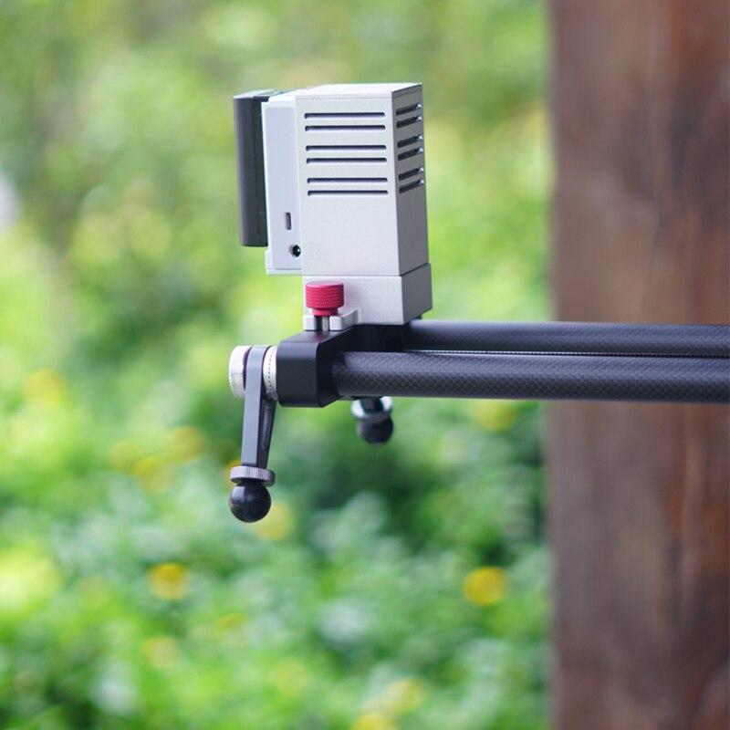 Image 5 - ASHANKS Silenzioso Bluetooth Scorrevole Della Fotocamera Carbonio APP Motorizzato Binario di Scorrimento di Ritardo di Controllo Elettrico per Timelapse FotografiaSistemi di binari   -