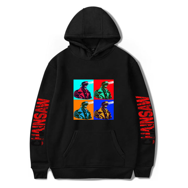 CHAINSAW MAN THEMED HOODIE (25 VARIAN)