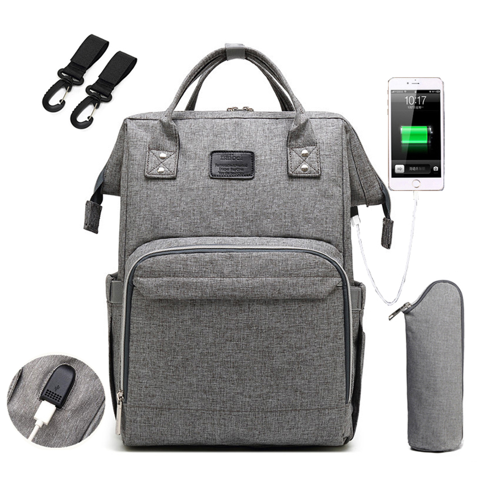 Mommy Maternity Bag 2020 Fashion Nappy Travel Backpack for Mom Multifunction Waterproof Baby Nursing Diaper Bags for Stroller