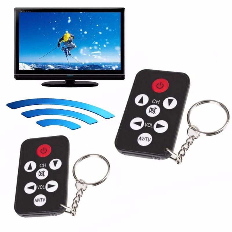 Небольшой Универсальный софтбокс диффузный инфракрасный ИК ТВ набор 7 клавиш телевизионного пульта дистанционного Управление; Брелок для ключей с легкостью|Смарт-гаджеты| | АлиЭкспресс