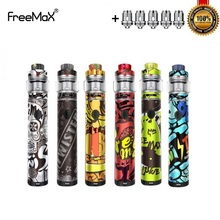 Original Freemax Twister 80W Starter Kit Built In 2300mah Battery with Fireluke 2 Vape Tank 5ml X1 Coil X2 Mesh Atomizer Core