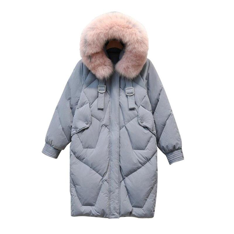 New Winter   Coat   Women   Down   Jacket Female White Duck Long   Down     Coats   Fashion Casual Parka Warm Thick Overcoat Hooded   Coat   Jacket