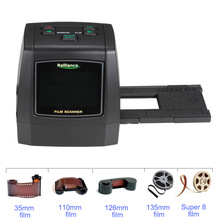 2.4in LCD 14MP 22MP 135 millimetri Pellicola Photo Scanner Pellicola Negativa a Colori Scanner Slide Viewer Scanner Digital Film Converter