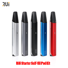 E Cigarette Vape kit RUi Starter Self-fill Pod sys