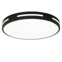 超薄型ラウンド現代の led シーリングライト照明器具寝室キッチン表面実装ランプ -