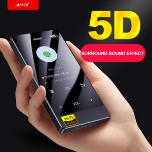 Image 5 - חדש הגעה נייד Bluetooth מיני MP3 HIFI נגן מוסיקת lossless נגן 2.4 אינץ מגע מסך ווקמן תמיכה OTG AIFF TF x3