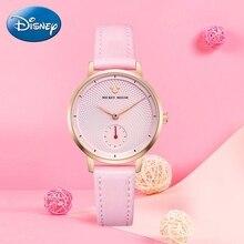 2020 yeni lüks kadın moda moda kol saati kadın Disney Quartz saat deri kadın saatler bayan kız hediye Mickey saat