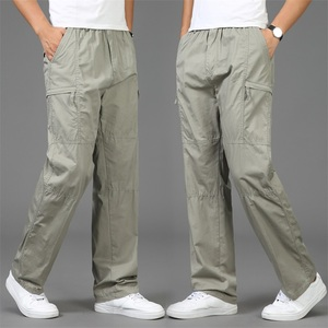Image 4 - 2020 Autumn Fashion Men Pants Casual Cotton Long Pants Straight Joggers Homme Big Size 5XL Comfortable Loose Trousers for Men