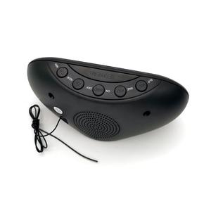 Image 5 - 1.2 אינץ LED 3 FM & AM רדיו תצוגת שעון אלקטרוני מעורר שולחני שעון דיגיטלי שולחן רדיו מתנת בית משרד אספקת האיחוד האירופי Plug