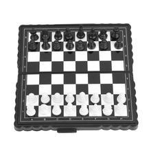 Портативные пластиковые складные шахматные шахматы в виде нарды, магнитные шахматы, вечерние шахматные игры, аксессуары для семейных игр