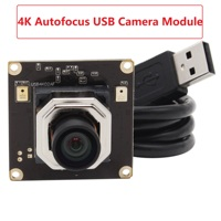 4K Autofocus Camera Module 3840(H)*2160 (V) SONY IMX415 MJPEG 30fps hd USB Board Webcam Camera module for android linux Windows