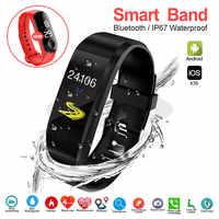 Smart Armband Sport Gesundheit Armband Herz Rate Blutdruck Smart Band Aktivität Fitness Tracker Smartband