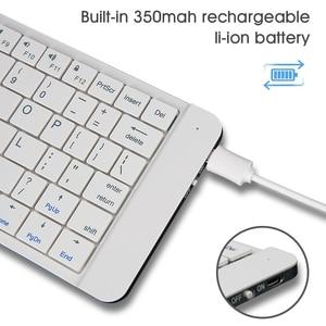 Image 4 - Rii K09 Di Động Da Gấp Mini Bluetooth Tây Ban Nha Bàn Phím Có Thể Gấp Lại Cho Iphone, Điện Thoại Android, Máy Tính Bảng, Ipad máy Tính