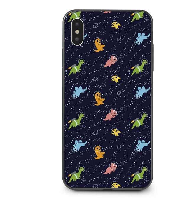 Милые животные в космосе Черепашки лисы Мягкие силиконовые ТПУ чехлы для телефонов iPhone XS MAX X XR 5 5S SE 6 6SPlus 7 7Plus 8 8Plus